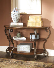 Nestor Medium Brown Sofa Table
