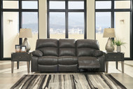 Dunwell Steel Power  Reclining Sofa with Adjustable Headrest