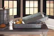 Dido Gray/Black Tray Set (2/CN)