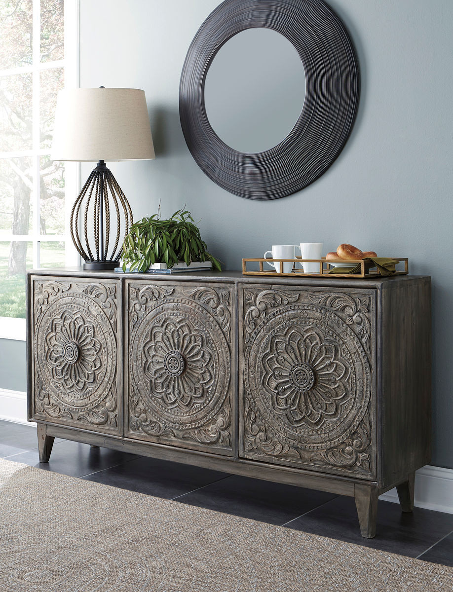 The Fair Ridge Dark Brown Console sold at Outten Brothers of ...