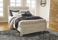 Bellaby Whitewash Queen Panel Bed