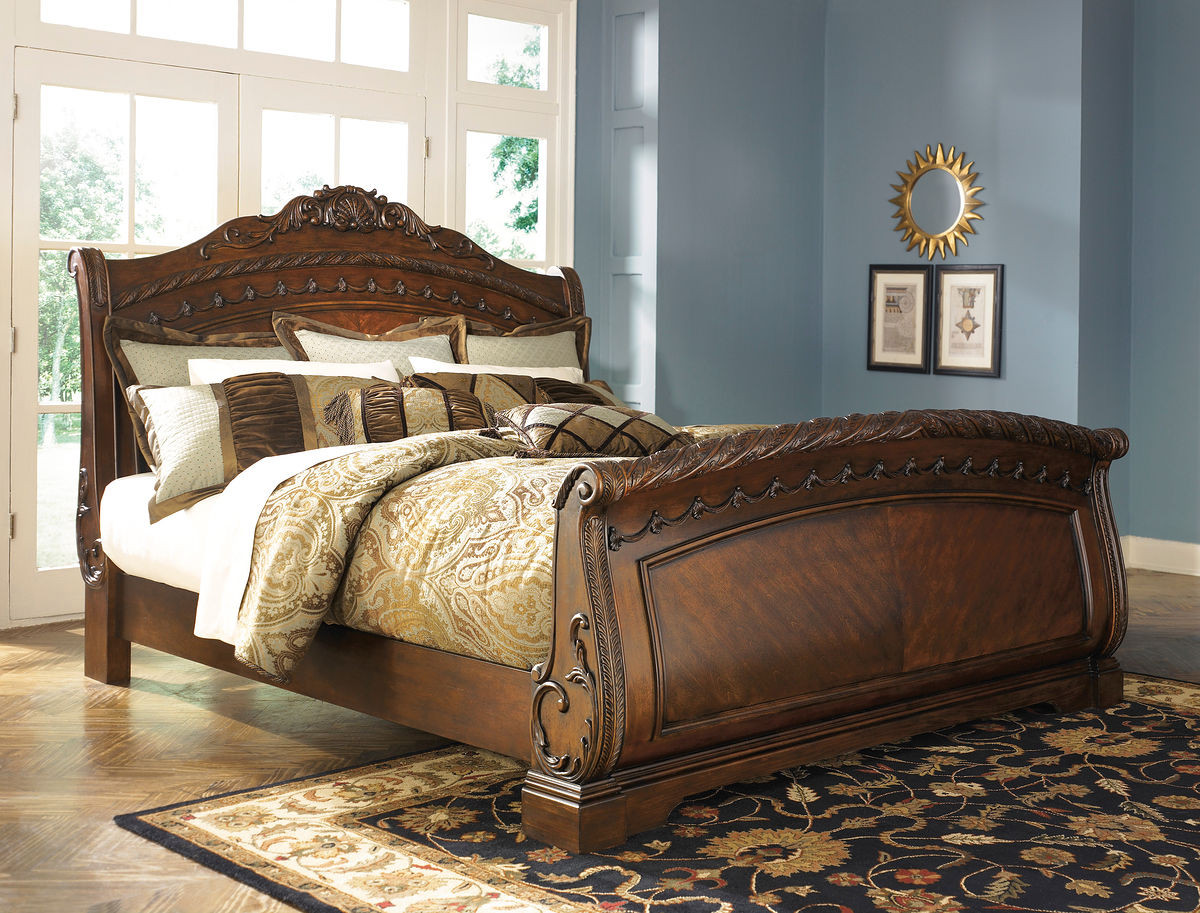 - The North Shore King Sleigh Bed Sold At Outten Brothers Of
