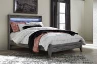 Baystorm Gray Queen Panel Bed
