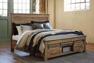 Sommerford Brown Queen Storage Bed