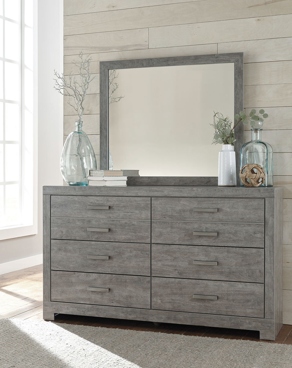 The Culverbach Gray Dresser Mirror Sold At Outten Brothers Of Salisbury Serving Salisbury Maryland And Surrounding Areas