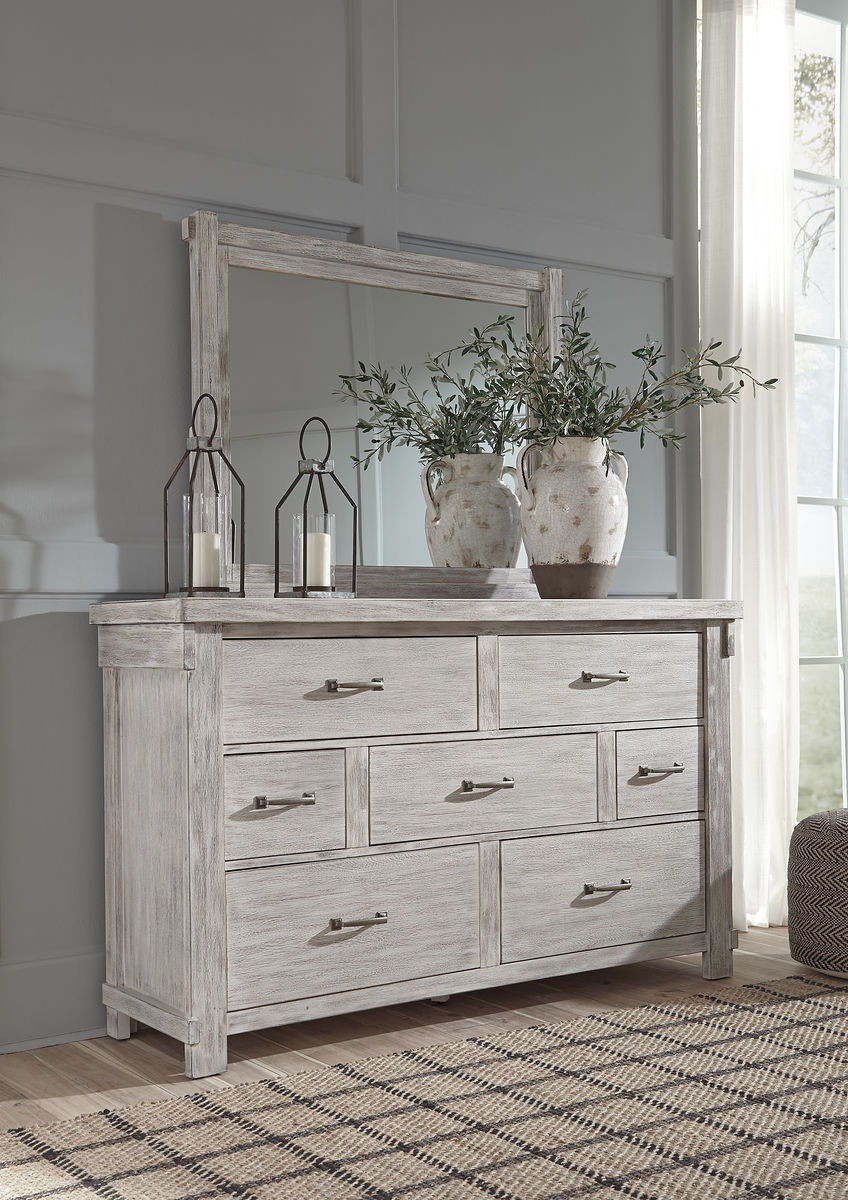 The Brashland White Dresser Mirror Sold At Outten Brothers Of Salisbury Serving Salisbury Maryland And Surrounding Areas
