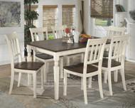 Whitesburg 7 Pc. Rectangular Dining Set