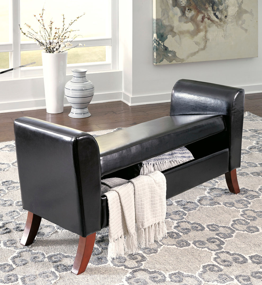 Groovy Benches Brown Upholstered Storage Bench Creativecarmelina Interior Chair Design Creativecarmelinacom