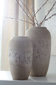 Dimitra Brown/Cream Vase Set