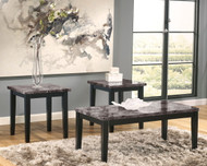 Maysville Black Occasional Table Set (3/CN)