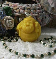 Silicone  Buddha Short and Fat Soap Candle Mold