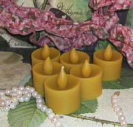 Silicone Flame Style Tealight Tea Light Candle Mold #1