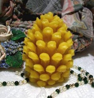 Silicone Pinecone Pine Cone Candle 2011