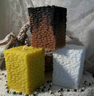 Silicone Pebble Pillar Candle Mold
