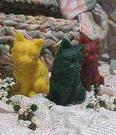 Silicone Stray Kitty Cat Cats Need Lov Soap Candle Mold
