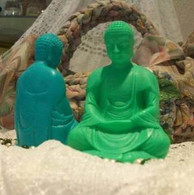 Silicone Sitting Buddha Soap Candle Mold