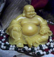 Silicone Sitting Buddha Soap Candle Mold Molds