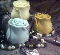 Silicone Rose Bud Soap Candle Mold
