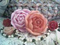 Silicone Rose #6 Soap Candle Mold