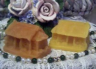 Silicone Primitive House Soap Candle Mold