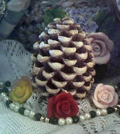 Silicone Pinecone Pine Cone Candle Soap Mold Small