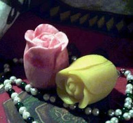 Silicone New Rose Bud Soap Candle Mold