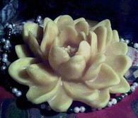 Silicone Lotus Lily Flower Soap Candle Mold