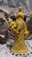 Silicone Large Victorian Santa With Tree Candle Mold