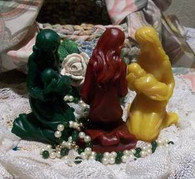 Silicone Mother With Child  #2 Soap Candle Mold