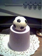 Silicone Large Mini Soccer Ball Soap Candle Mold