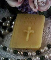 Silicone Holy Bible Soap Candle Tart Mold