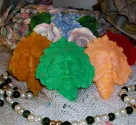 Silicone Greenman Soap Candle Tart Mold