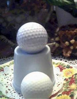 Silicone GOLF BALL Soap Candle Mold Molds
