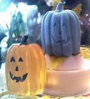 Silicone Happy Pumpkin Soap Candle Mold #4