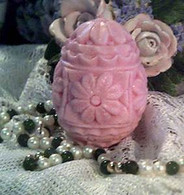 Silicone Flower Egg Soap Candle Mold
