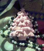 Silicone Christmas Tree Soap Candle Tart Mold
