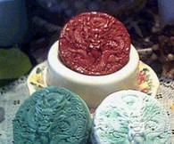 Silicone Chinese Dragon Soap Candle Mold