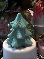 Silicone Christmas Tree  Soap Candle  Mold MEDIUM