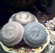 Silicone Cameo Soap Candle Tart Mold #2