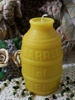 Silicone Barrel Of Beer Keg Candle Mold