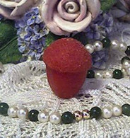 Silicone Acorn With Textured Top Soap Candle Tart Mold