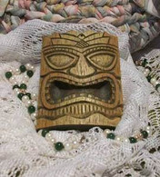 Silicone Africa Tribal Mask Soap Candle Tart Mold #2