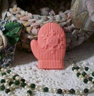 Silicone Mitten Glove Soap Candle Tart Mold