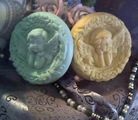 Cherub Angel Soap Candle Mold (1)