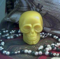 Skull Soap Candle Mold #3
