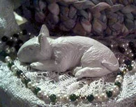 Bull Terrier Puppy Dog Soap Candle Mold