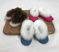Fur Baby Slippers