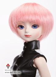 "W45-005 Dollzone MSD 7""-8"" Wig Short Pink"