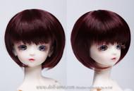 "GW60-007 Dollzone SD 8""-9"" Wig Short Brown"