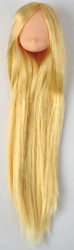 11HD-D01NC18 Obitsu Blank Rooted Head D01 for 11cm Body [Normal Fleshtone][Milky Gold Hair]